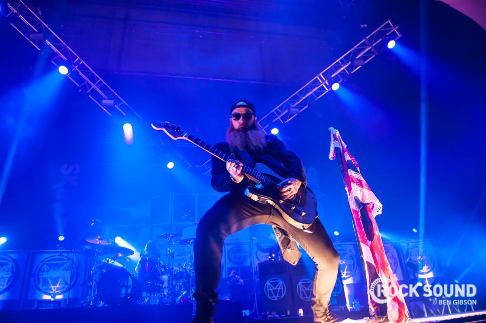 Skindred, London Brixton Academy, November 14 // Photo credit: Ben Gibson