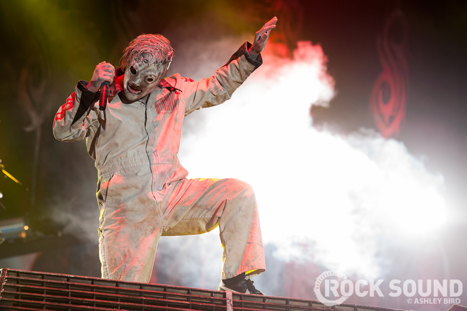 Noises From The Great Big Mouth Corey Taylor Doesn T Believe In Your God Here S Why Features Rock Sound Magazine