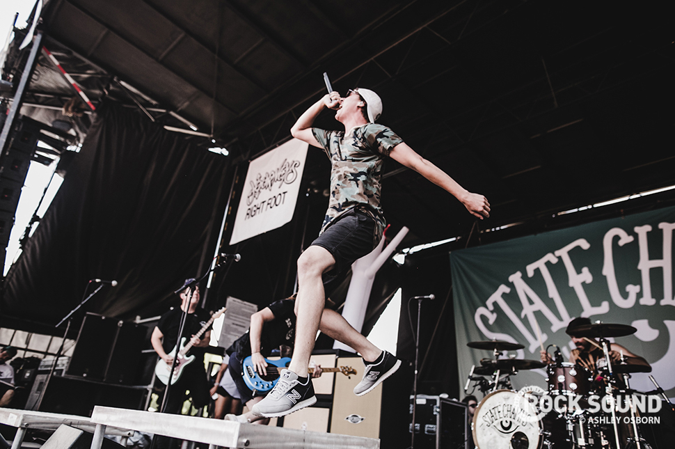 State Champs, Vans Warped Tour 2016 // Photo credit: Ashley Osborn