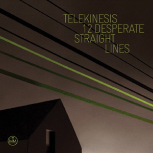 Telekinesis - 12 Desperate Straight Lines Cover