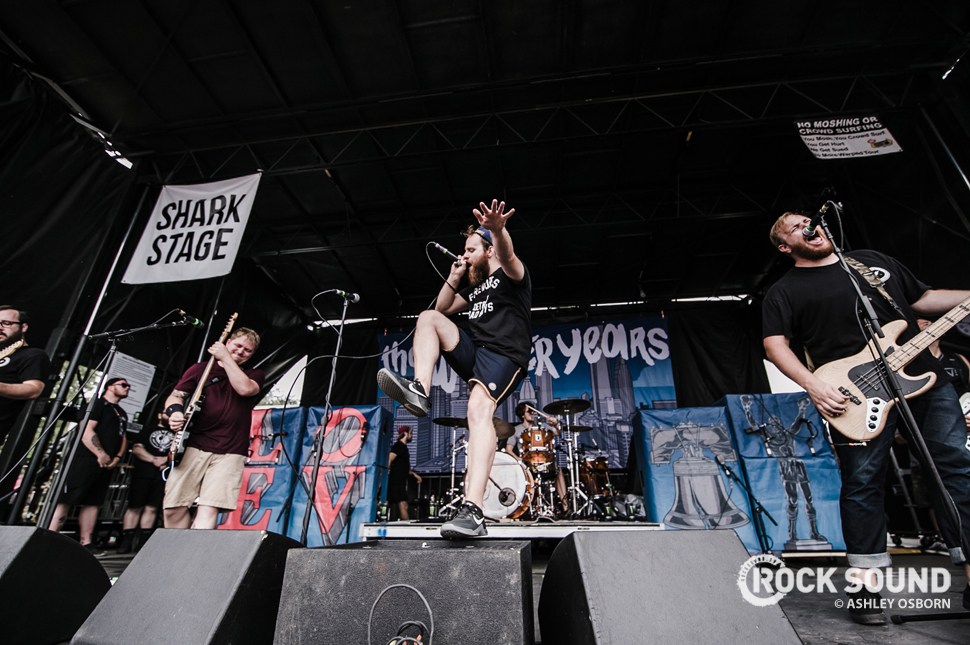 The Wonder Years, Vans Warped Tour West Palm Beach, Florida, July 04 // Photo credit: Ashley Osborn
