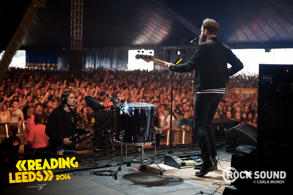 Twin Atlantic, Leeds Festival. August 23, 2014. Shot for Rock Sound by Carla Mundy