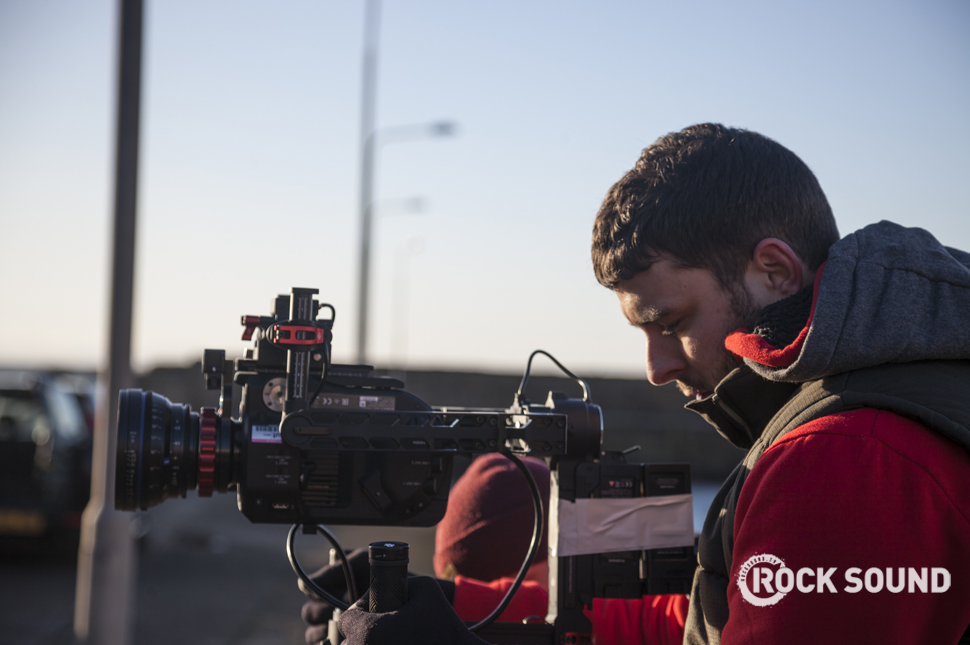 Behind the scenes on Twin Atlantic's video for 'Oceans'