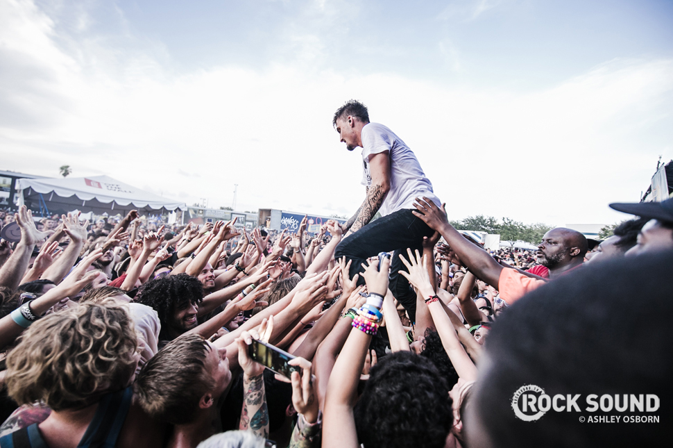 We Came As Romans, Vans Warped Tour West Palm Beach, Florida, July 04 // Photo credit: Ashley Osborn