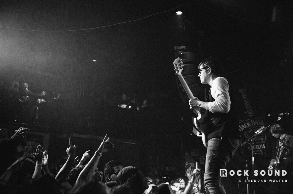 Weezer, Whisky A Go Go, Los Angeles, September 10 // Photo: Brendan Walter