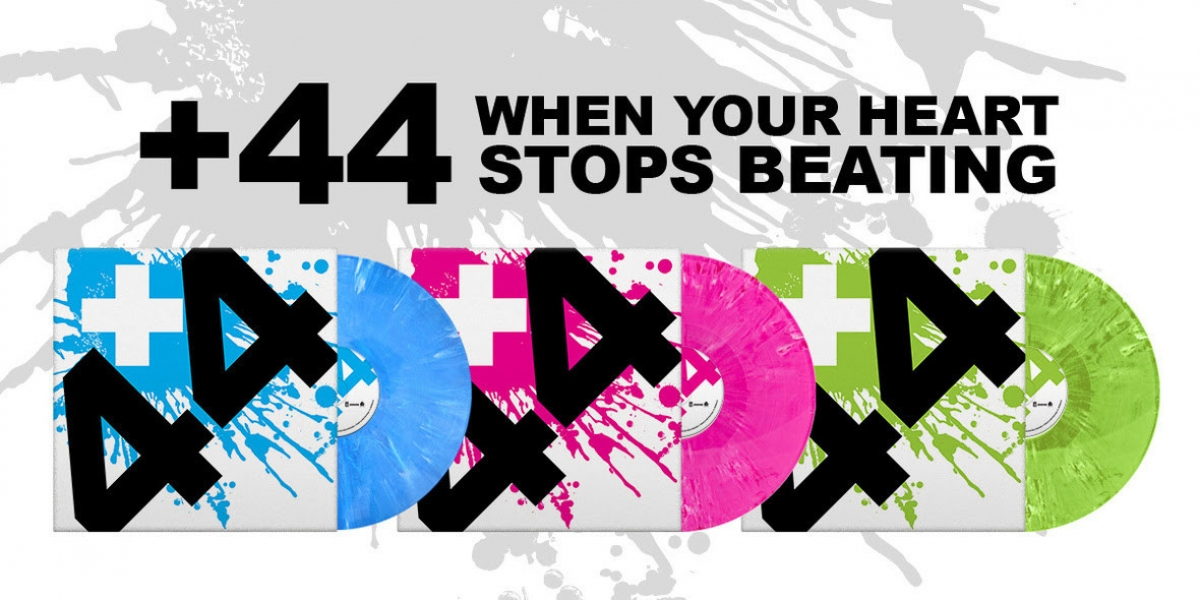 +44 - When Your Heart Stops Beating (Official Video) - YouTube