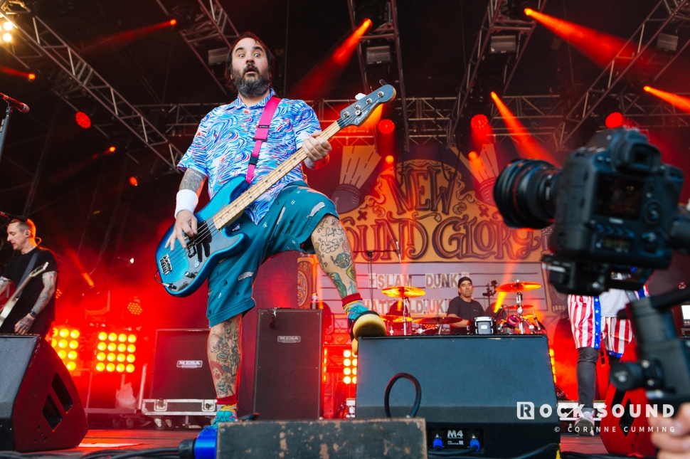 New Found Glory, Slam Dunk South, May 26 // Photo: Corinne Cumming