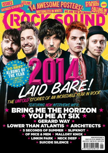 Rocksound - Issue 195 - January 2015