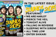The New Issue Of Rock Sound Is On Sale Everywhere TODAY!