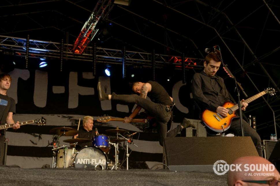 Anti-Flag, Hevy Festival 2014