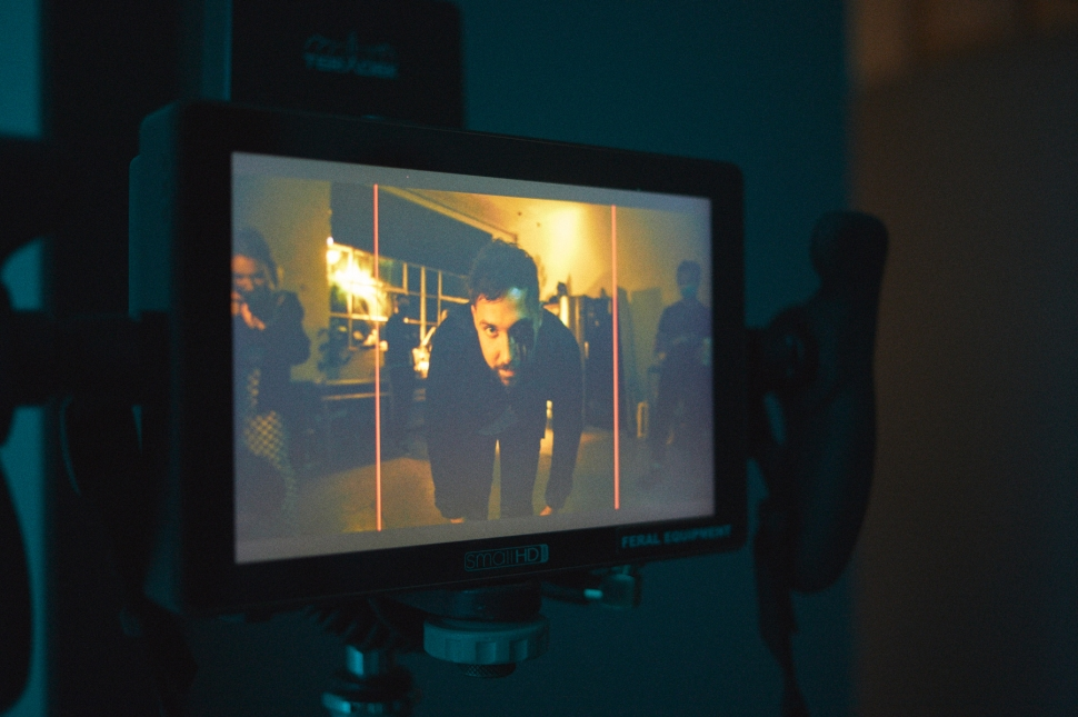Behind The Scenes: You Me At Six's 'MAKEMEFEELALIVE' video shoot // Photo credit: Giles Smith