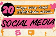20 Things Every Band Should Know About… Social Media