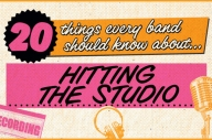 20 Things Every New Band Needs To Know About… Hitting The Studio For The First Time