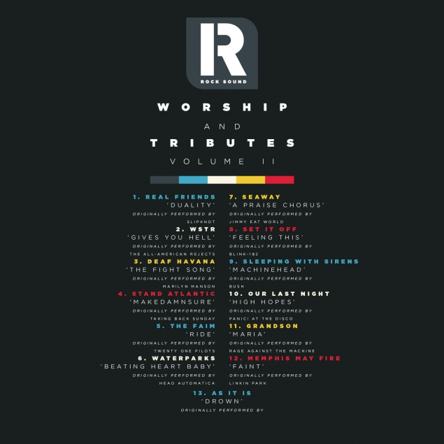 Pre-Order The Rock Sound 250 'Worship And Tributes' Covers