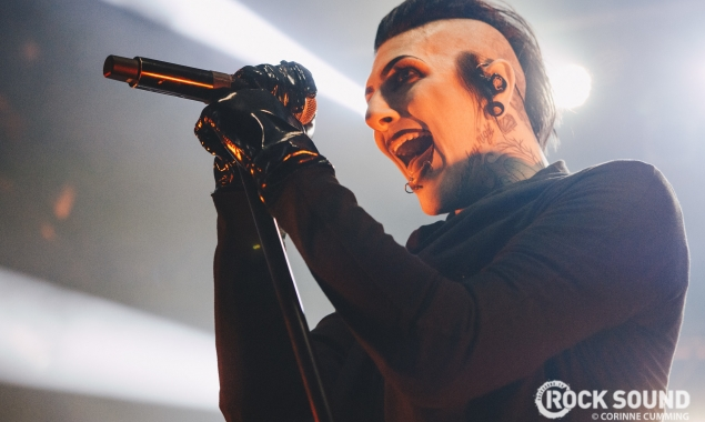 Chris Motionless Tells Us His Funniest Warped Tour Signing Story