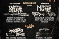 Suicide Silence + Memphis May Fire Set To Headline Ghostfest
