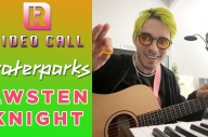 Waterparks' Awsten Knight Plays 'The Office' Theme, Talks TikTok & 'Fandom' Movie - Video Call