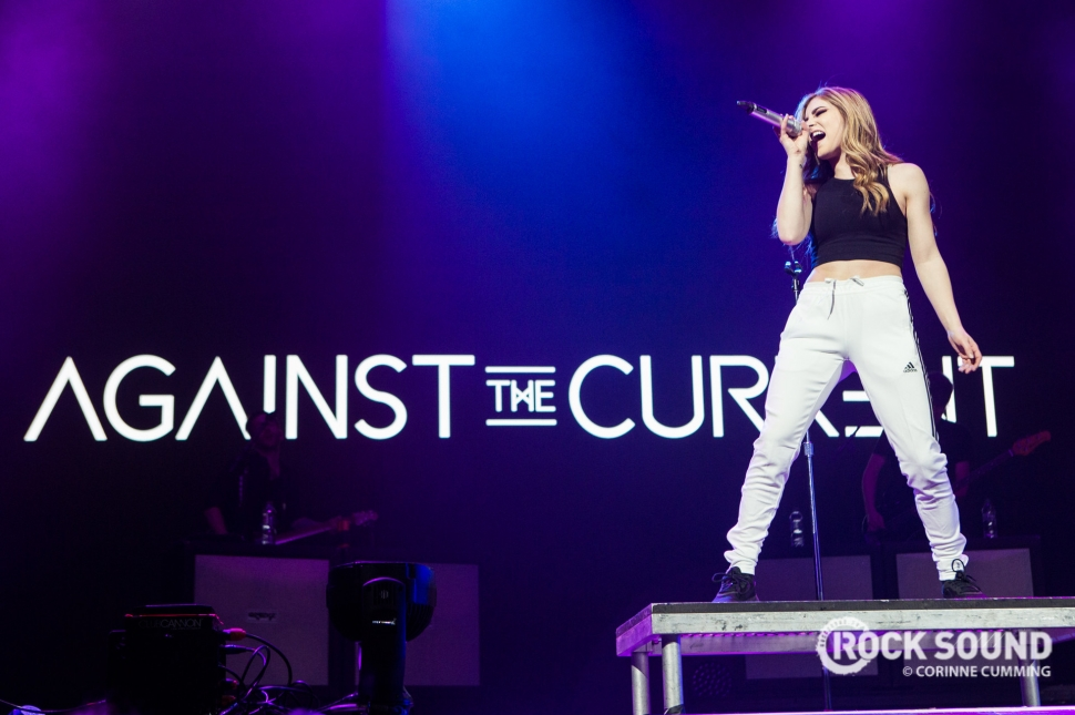 Against The Current, London O2 Arena, March 31, 2018 // Photo: Corinne Cumming