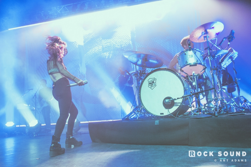 Against The Current, Kentish Town Forum, September 29 // Photo: Ant Adams
