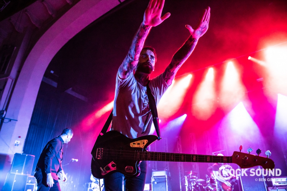 Alexisonfire, London Brixton Academy, June 12 // Photo: Ben Gibson