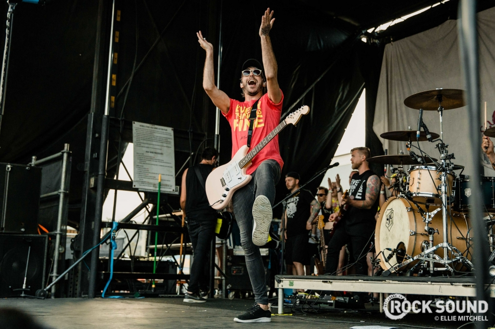 All Time Low, Warped Tour 2018 // Photo: Ellie Mitchell