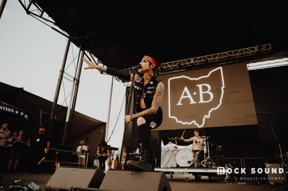 Andy Black, Warped Tour, Atlantic City, June 30 // Photo: Maggie Friedman