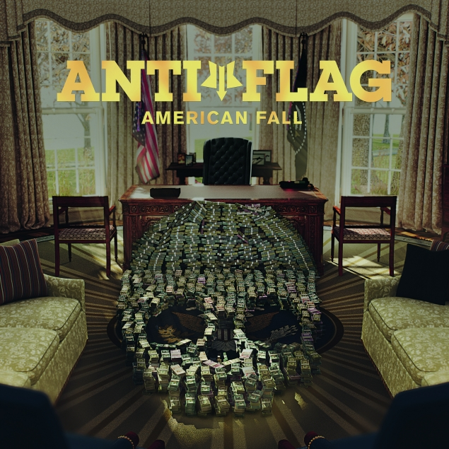 Anti-Flag - American Fall Cover