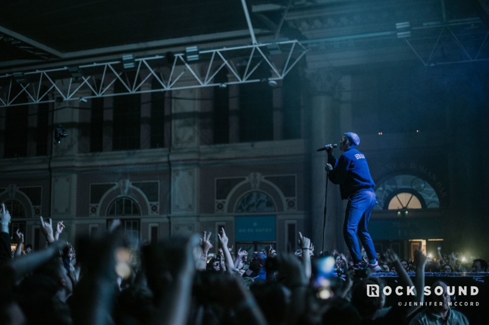 Bring Me The Horizon, Alexandra Palace, November 29 // Photo: Jennifer McCord