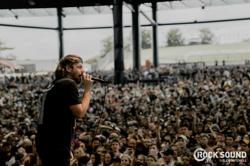 Beartooth, Warped Tour 2018 // Photo: Ellie Mitchell
