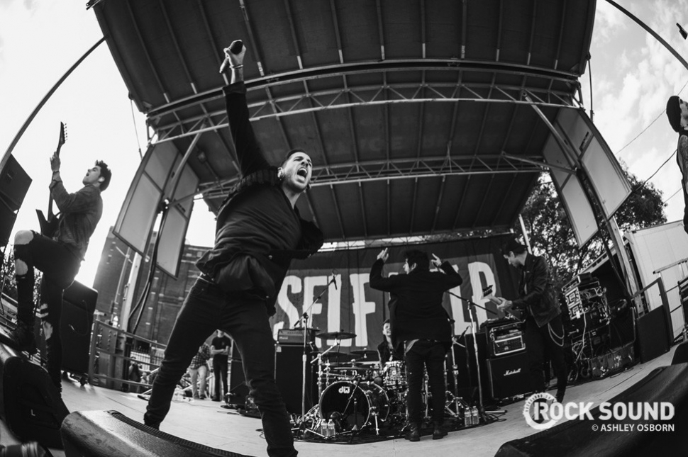 Crown The Empire, Self Help Festival Northeast Edition, Philadelphia, October 2014