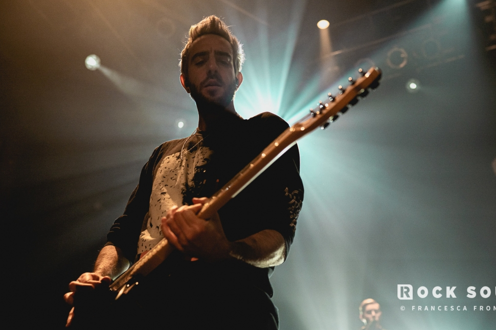 All Time Low, House Of Blues, Chicago, December 21 // Photo: Francesca Fronzaglio