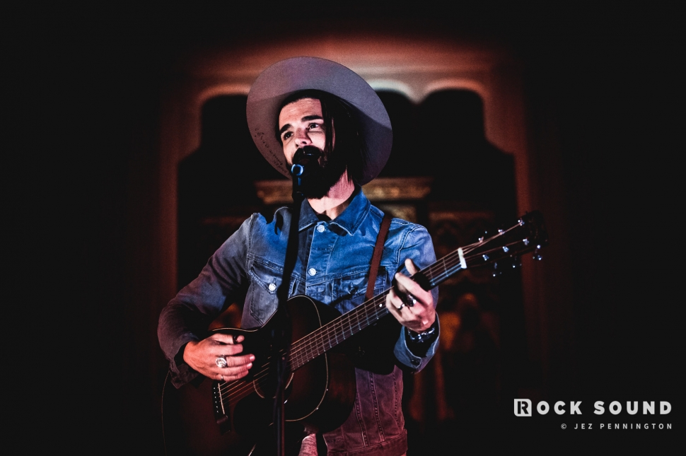 Dashboard Confessional, St Pancras Old Church, November 13 // Photo: Jez Pennington