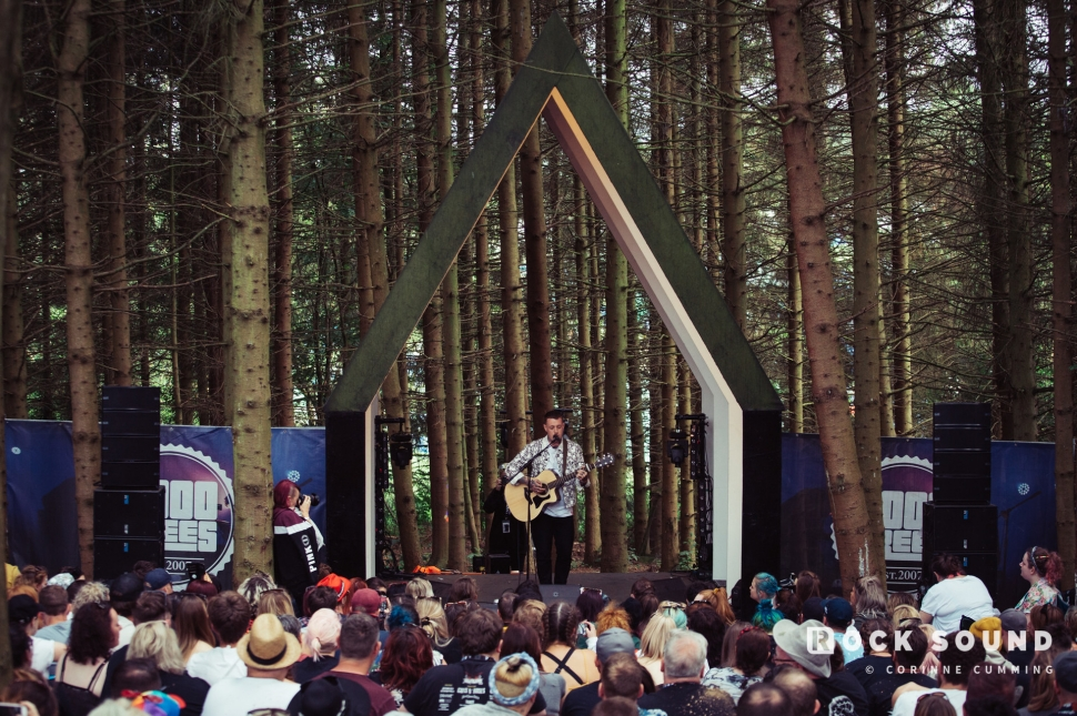 Deaf Havana, 2000 Trees Festival, July 13 // Photo: Corinne Cumming