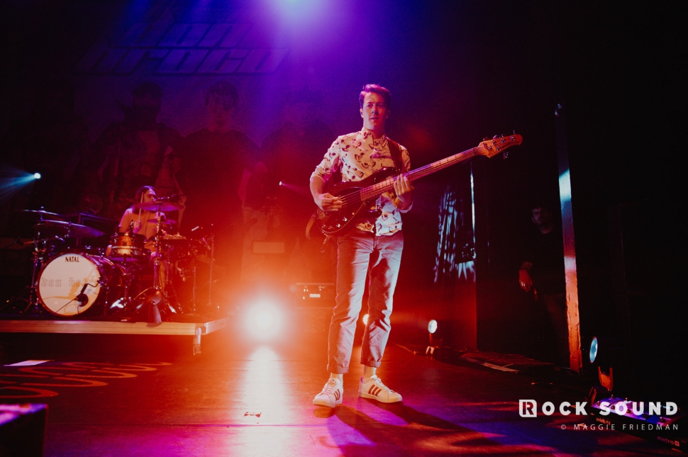 Don Broco, Gramercy Theatre, September 13 // Photo: Maggie Friedman