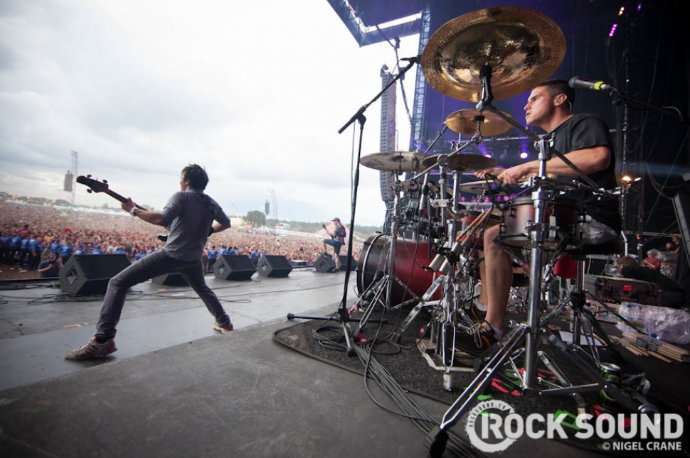 Onstage With Enter Shikari At Reading Festival