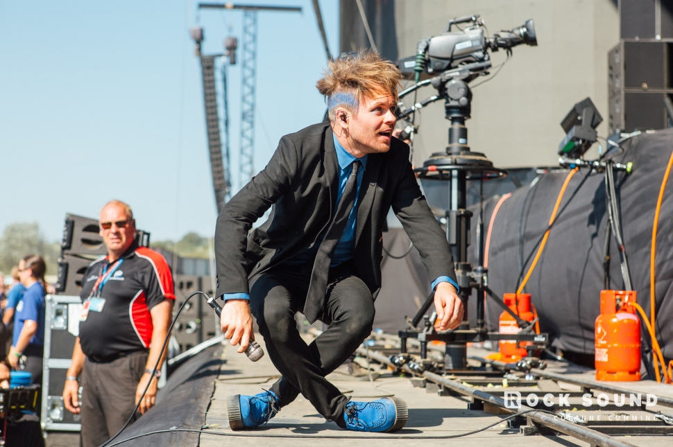 Enter Shikari, Reading Festival, August 25 // Photo: Corinne Cumming