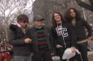 10 Years Ago Fall Out Boy Almost Got Arrested In NYC For Their Pop-Up Show