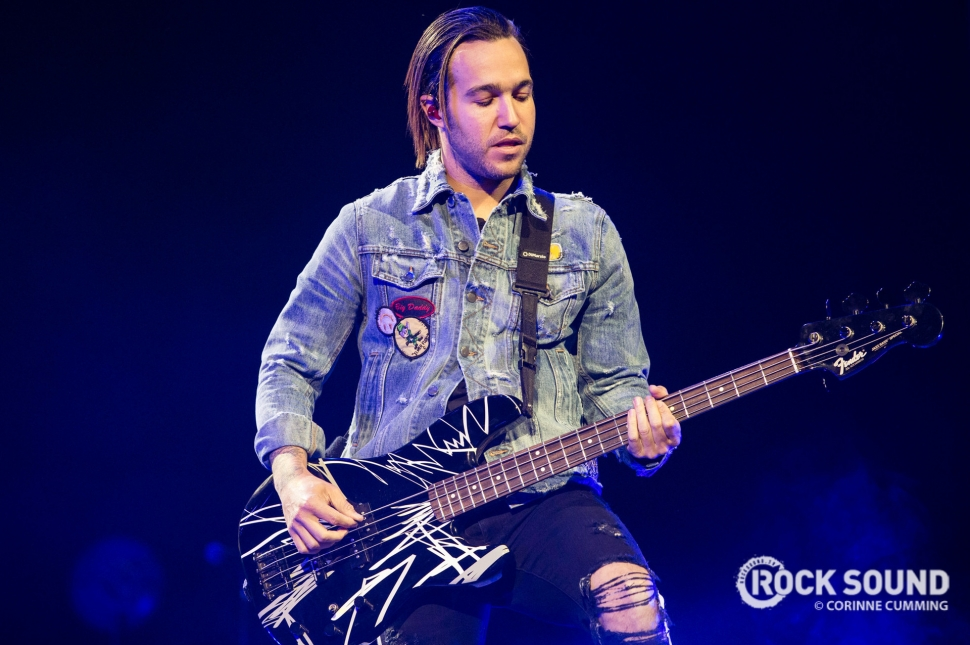 Fall Out Boy, London O2 Arena, March 31, 2018 // Photo: Corinne Cumming