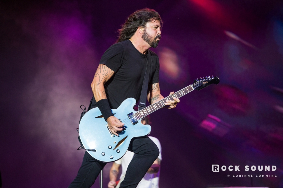 Foo Fighters, Reading Festival, August 25 // Photo: Corinne Cumming