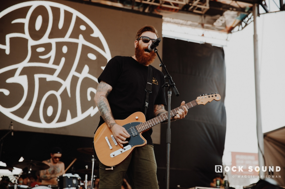 Four Year Strong, Warped Tour, Atlantic City, June 30 // Photo: Maggie Friedman