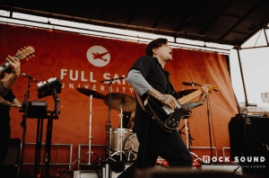 GALLERY: Frank Iero Returns To Warped Tour For 25th Anniversary Show