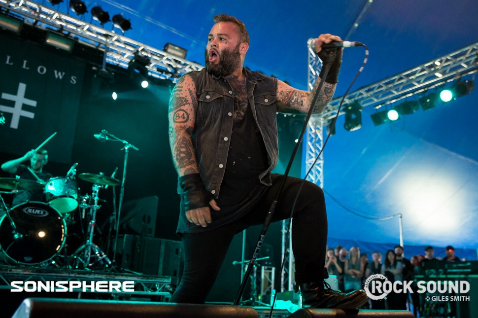 Gallows At Sonisphere 2014. All shots by Giles Smith.