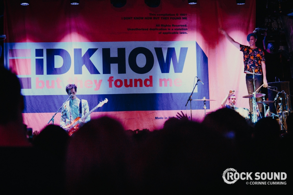 IDKHow, O2 Islington, August 28 // Photo: Corinne Cumming