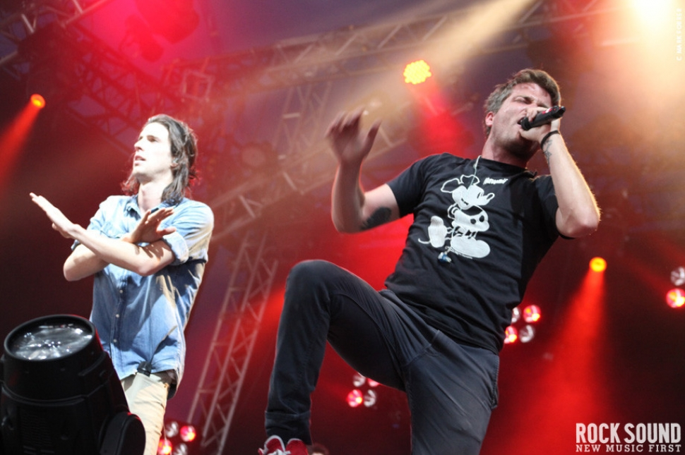 Leeds 2010 Live And Loud: 3OH!3