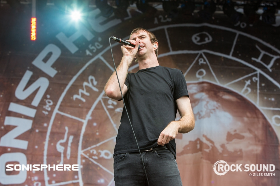 Karnivool, Sonisphere 2014. Shot for Rock Sound by  Giles Smith.