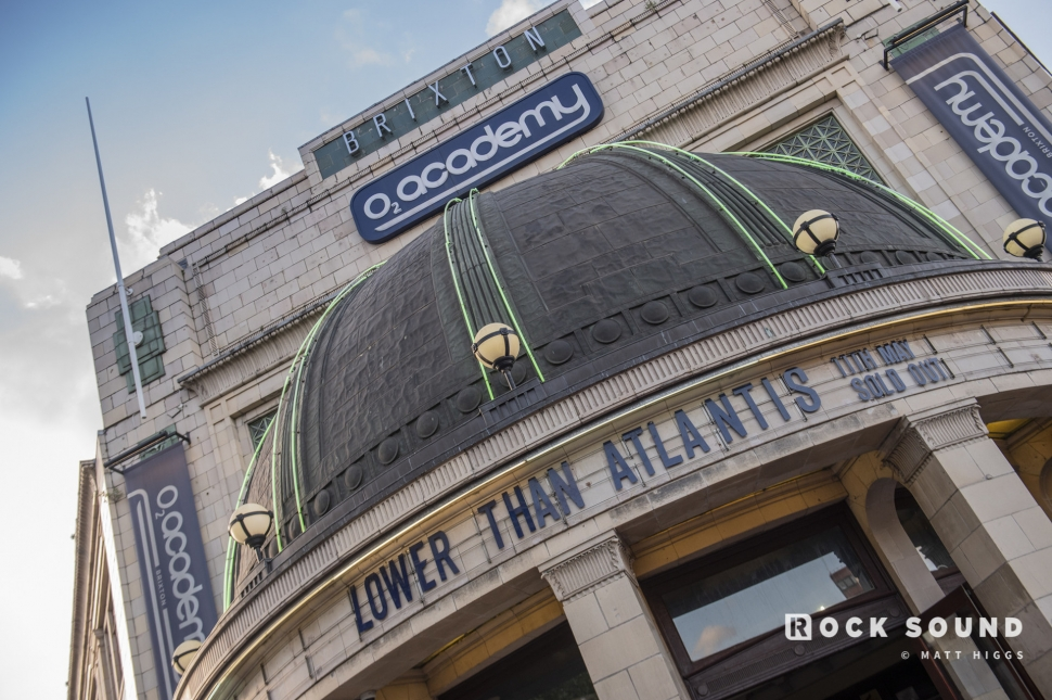 Lower Than Atlantis, O2 Academy Brixton, London, May 13  // Photo: Matt Higgs