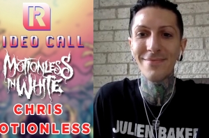 Motionless In White's Chris On 'Creatures X' & The Killers 'Somebody Told Me' Cover - Video Call