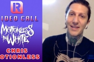 Motionless In White's Chris On 'Creatures' Anniversary, 'Another Life' & New Music - Video Call