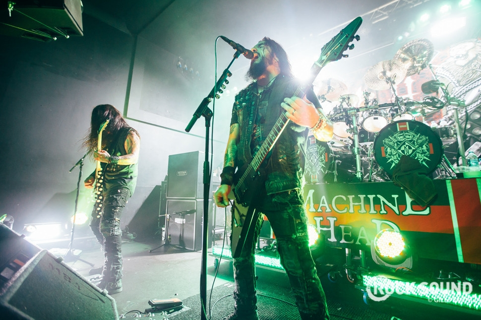 Machine Head, Nottingham Rescue Rooms, July 29, 2014
