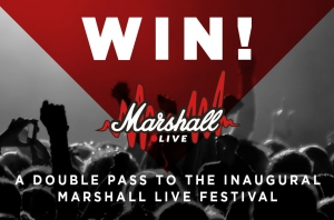 Win A Double Pass To The Inaugural Marshall Live Festival